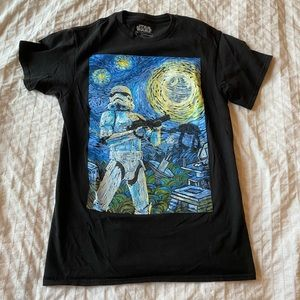 Van Gogh inspired Star Wars T-Shirt